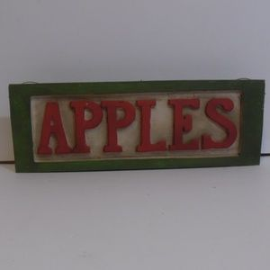 Other - Apples Sign Decor